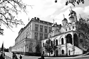 Большой Кремлевский дворец и Благовещенский собор
