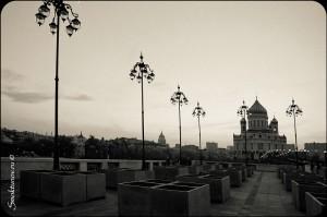 Храм Христа Спасителя. Мост