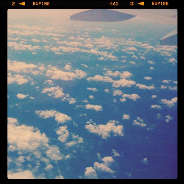 Moscow-Barcelona. Aeroflot.