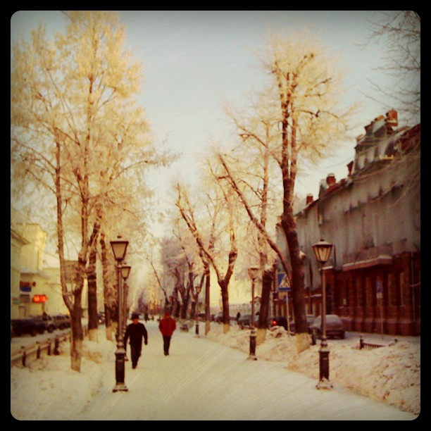 Зима в Костроме