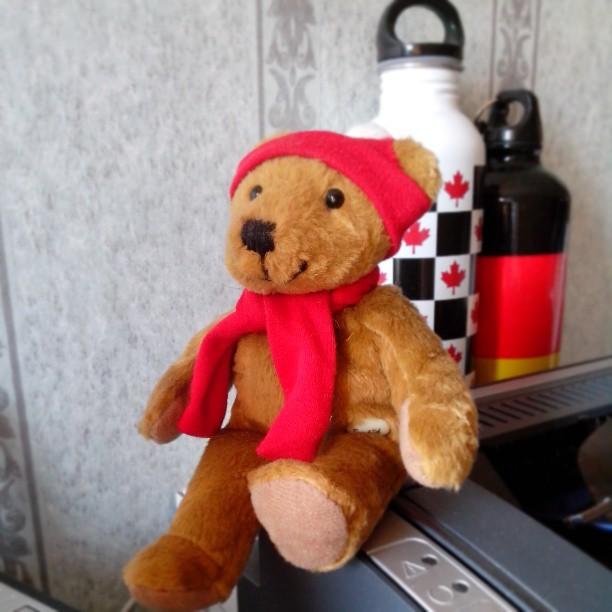 Mein kleiner Freund. #toys #toy #bear #red #talisman #Keltern