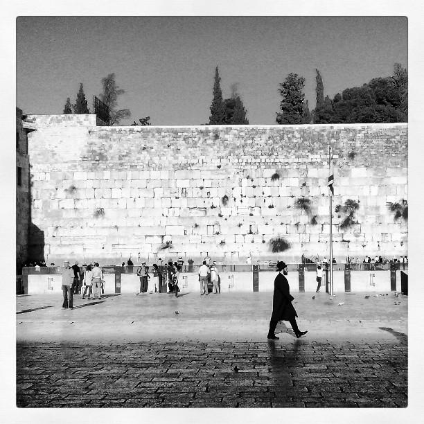 У Стены плача. #Israel #Jerusalem #Western_wall #west #wall #Израиль #Иерусалим
