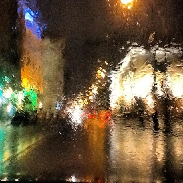 Январский дождь