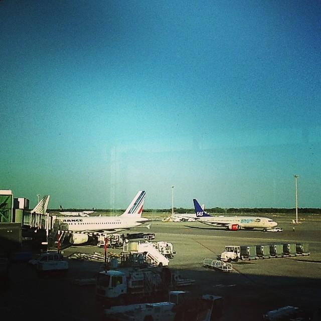 Впервые полечу AirFrance