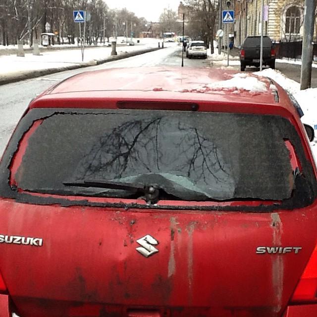 Guten Morgen mein Wagen!