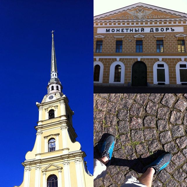 Прогулка по Петропавловской крепости