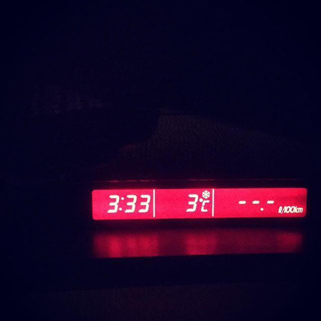 Почему ночью в ноябре три градуса тепла?