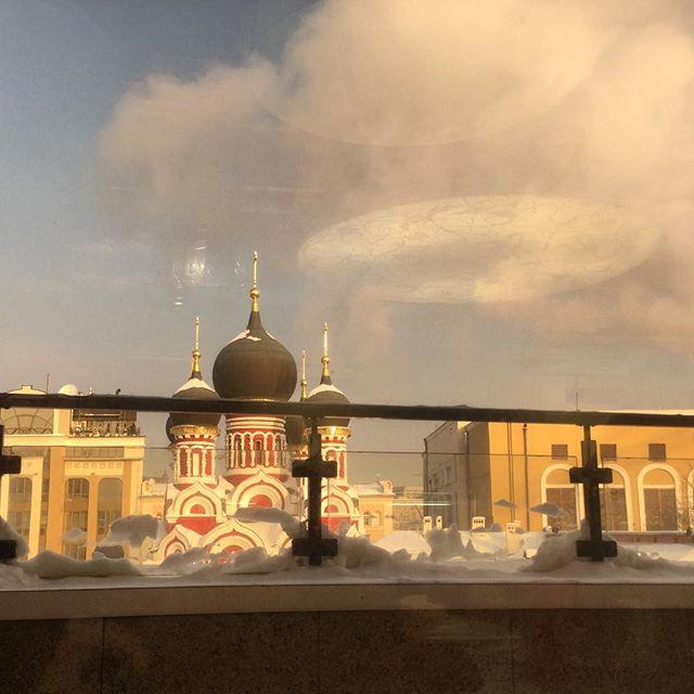 НЛО над Москвой из окна Google