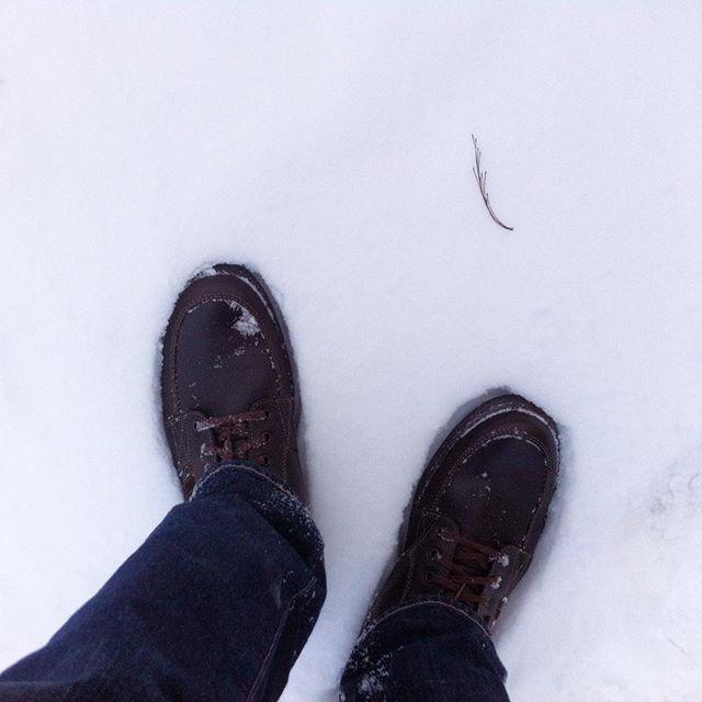 Обкатываю новые ботинки