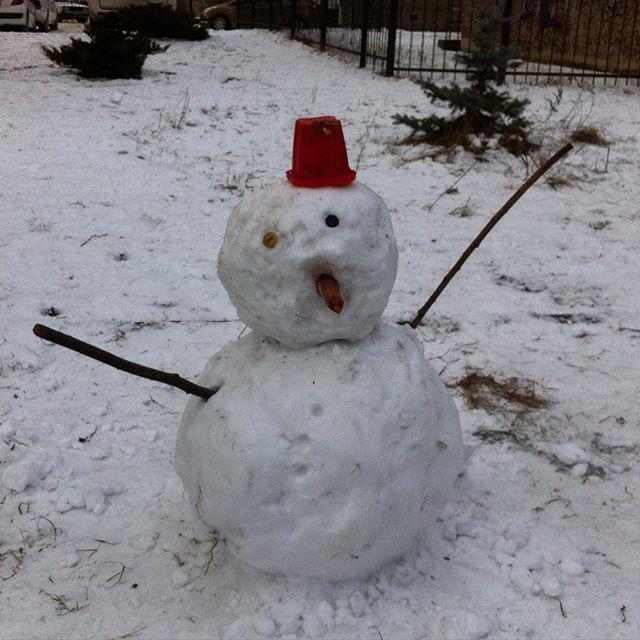 "Снеговик ""Минус один"""