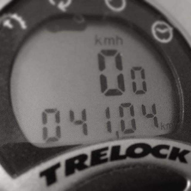 41 километр для первой в году поездки - это в самый раз!