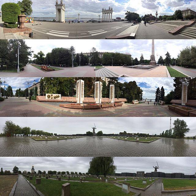 Панорамы Волгограда