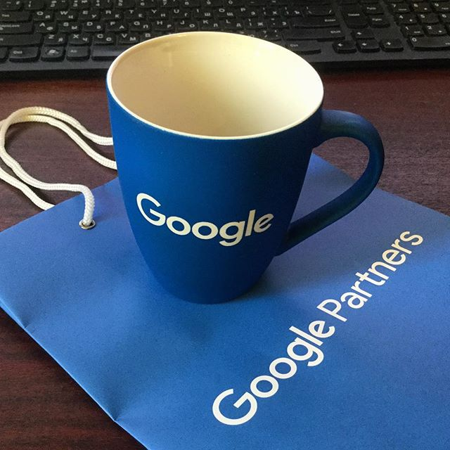 Кружка Google - награда за сданный сертификат!🏅