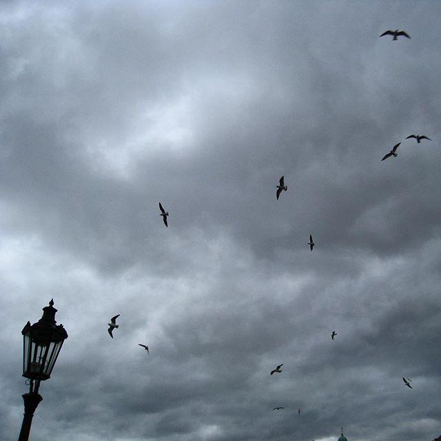 Прага. Небо.